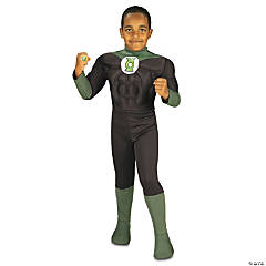 Green Lantern Costume for Boys