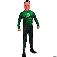 Sinestro Green Lantern Costume for Boys