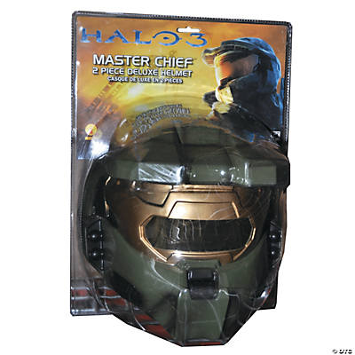 Halo 3 Master Chief Vacuform Mask