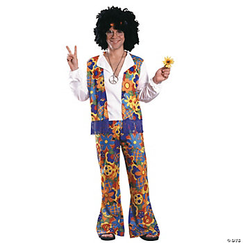 Hippie Adult Men's Costume