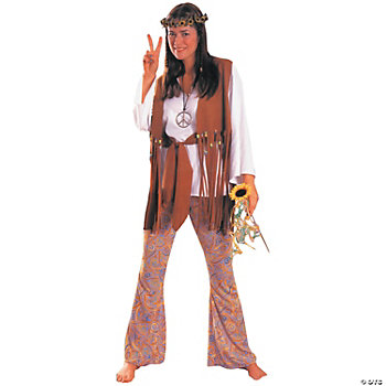 Hippie Love Adult Women's Costume