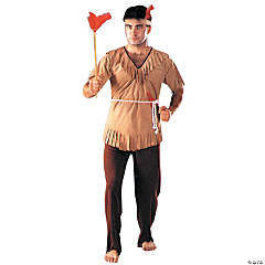 Indian Man One Size Adult Men's Costume