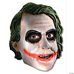 Joker™ 3/4 Vinyl Mask For Kids