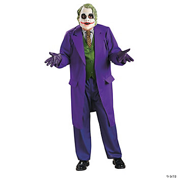 Joker Deluxe Standard Adult Men's Costume