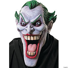 Comic Book Joker Latex Mask