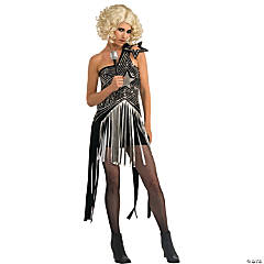 Lady Gaga Star Dress Adult Women's Costume
