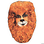 Lion Face Hair Piece Mask