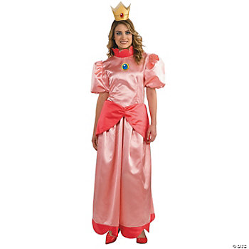 Mario Bros Princess Peach Adult Women's Costume