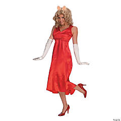 Miss Piggy Adult Women's Costume