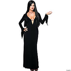 Morticia Adult Women's Costume