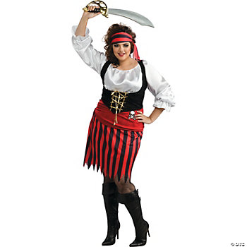 Pirate Woman Plus Size Adult Women's Costume
