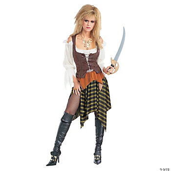Pirate Wench Standard Adult Women's Costume