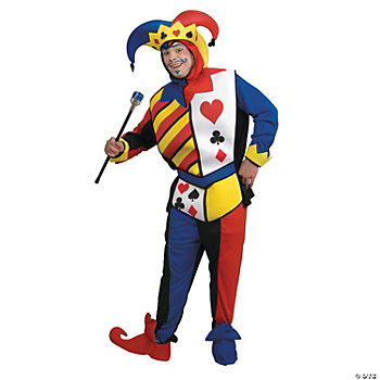 Playing Card Joker Adult Men's Costume