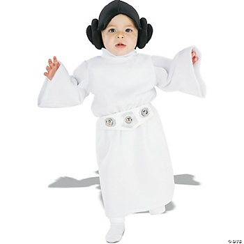 Princess Leia Toddler Girl's Costume