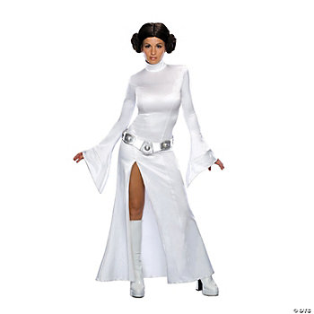Princess Leia White Dress Adult Women's Costume