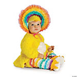 Rainbow Chickie Girl's Costume