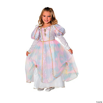 Rainbow Princess Girl's Costume