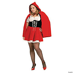 Red Riding Hood Plus Size Women's Costume