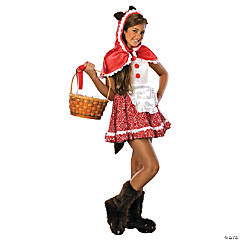 Wolfskin Red Riding Hood Girl's Costume
