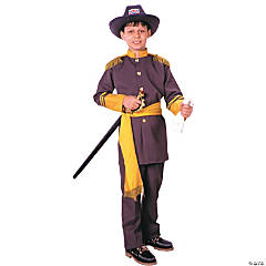 Robert E Lee Boy's Costume