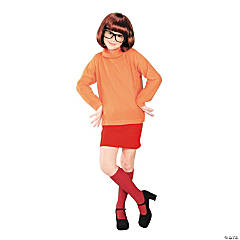 Scooby Doo Velma Girl's Costume