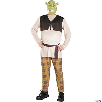 Shrek Plus Size Adult Men's Costume