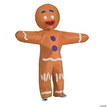 Shrek Gingerbread Man Adult Men's Costume