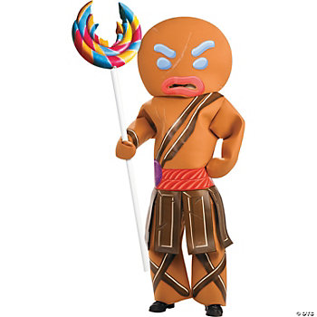 Shrek Gingerbread Warrior Man Adult Men's Costume