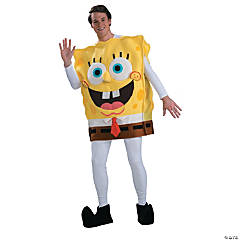 Spongebob Deluxe Costume for Adults