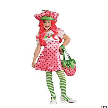 Strawberry Shortcake Deluxe Girl's Costume