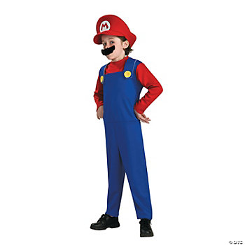 Super Mario Standard Kid's Costume