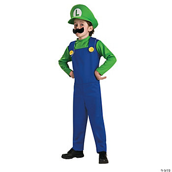 Super Mario Bros.® Luigi Boy's Costume