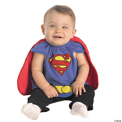 Superman Costume Bib for Boys