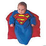 Superman Deluxe Bunting Infant Boy's Costume