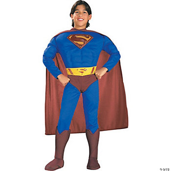 Superman Muscle Chest Toddler Boy's Costume