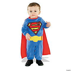 Cuddly Superman Costume for Toddler Boys