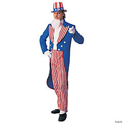 Uncle Sam Adult Men's Costume