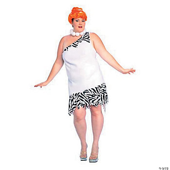 Wilma Flintstone Gt Plus Size Adult Women's Costume