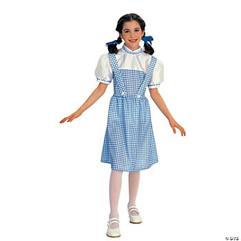 Wiz Of Oz Dorothy Girl's Costume