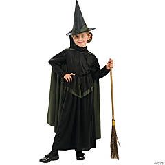 Wizard Of Oz Wicked Witch Girl's Costume