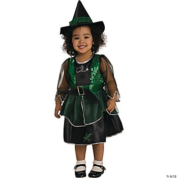 Wiz Of Oz Wicked Witch Toddler Girl's Costume