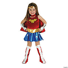 Wonder Woman Costume for Toddler Girls