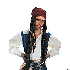 Pirates Of The Caribbean Captain Jack Sparrow Headband Hair