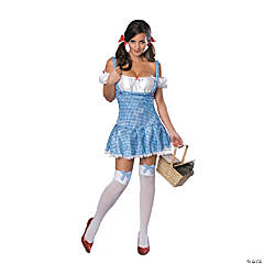 Wizard Of Oz™ Dorothy Sparkle Adult Women's Costume