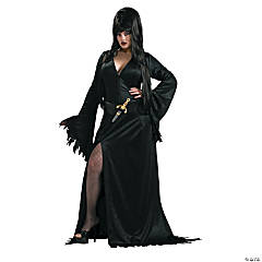 Elvira Plus Size Adult Women's Costume