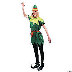 Peter Pan Lady Costume for Women