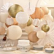 Wedding Decorations - Paper Lanterns