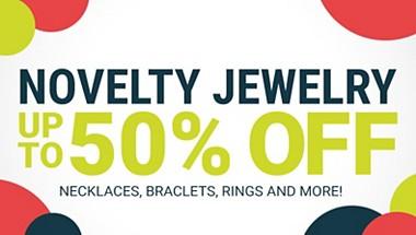 Novelty Jewelry Sale!