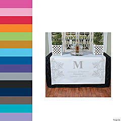 Monogrammed Table Runners