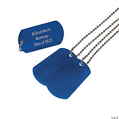 Personalized Dog Tag Necklaces